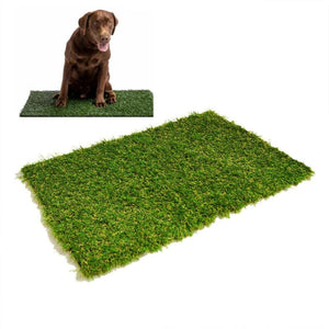 Toilet Dog Grass Pad Pee Mat Patch Simulation Training Green Artificial Turf Pet Puppy Potty Trainer - My Web Store Shopping