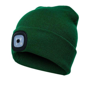 Load image into Gallery viewer, Unisex Climbing Hat Fishing Camping Knitted LED Light Outdoor Running Beanie - My Web Store Shopping