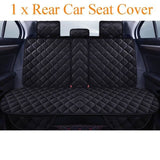 Universal Plush Car Seat Cover Winter Warm Auto Front Back Rear Backrest Seat Cushion - My Web Store Shopping