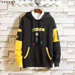 Graffiti Printed Hoodie Sweatshirt Men Autumn BF GD Hooded Oversized Hoodies Men - My Web Store Shopping