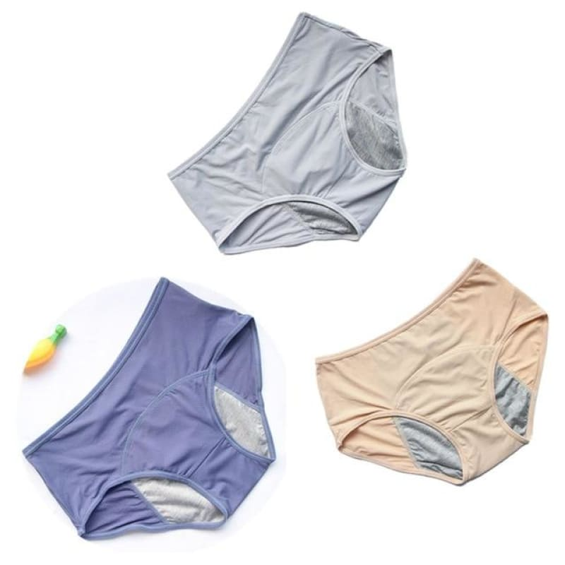 3PCS/Set Leak Proof Menstrual Panties - My Web Store Shopping