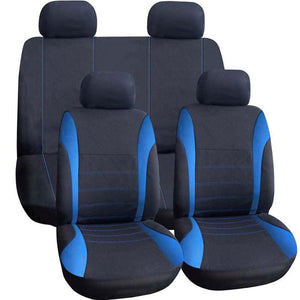 Load image into Gallery viewer, 9Pcs/Set Universal Car Seat Support Cushion Cover Polyester Car Seat Front Back Covers Protector Car - My Web Store Shopping