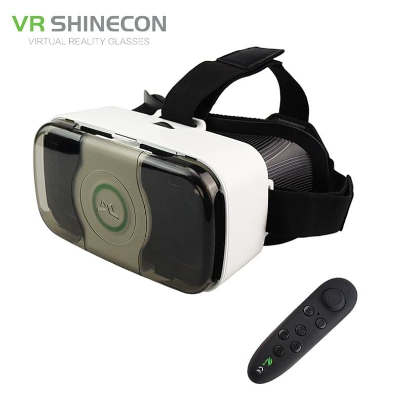 VR 3.0 Headset 3D Virtual Reality Glasses Googles Front Cover Helmet for 4.5-6' Mobile Phone with VR - My Web Store Shopping
