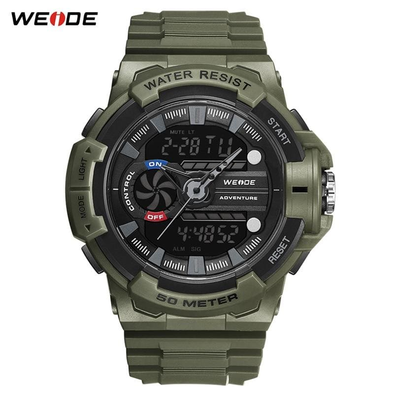 Men Watch Relogio Men Watch Waterproof Clock Alarm Date Analog Digital Military Army Quartz Military - My Web Store Shopping