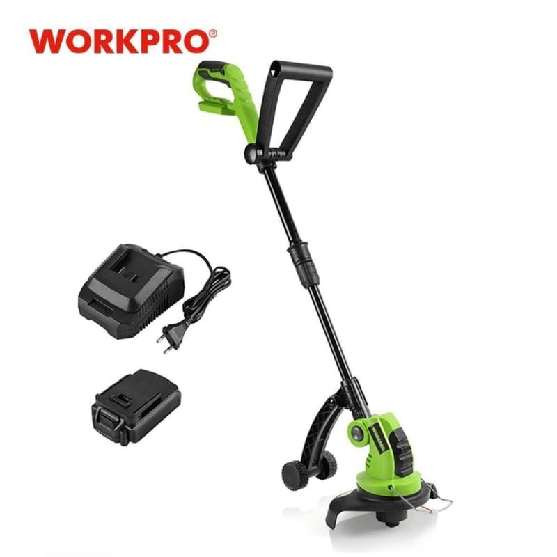 Cordless Grass Trimmer Lawn Mower Adjustable Handles  Power Trimmer 2000mAh Charging Time 1Hour - My Web Store Shopping