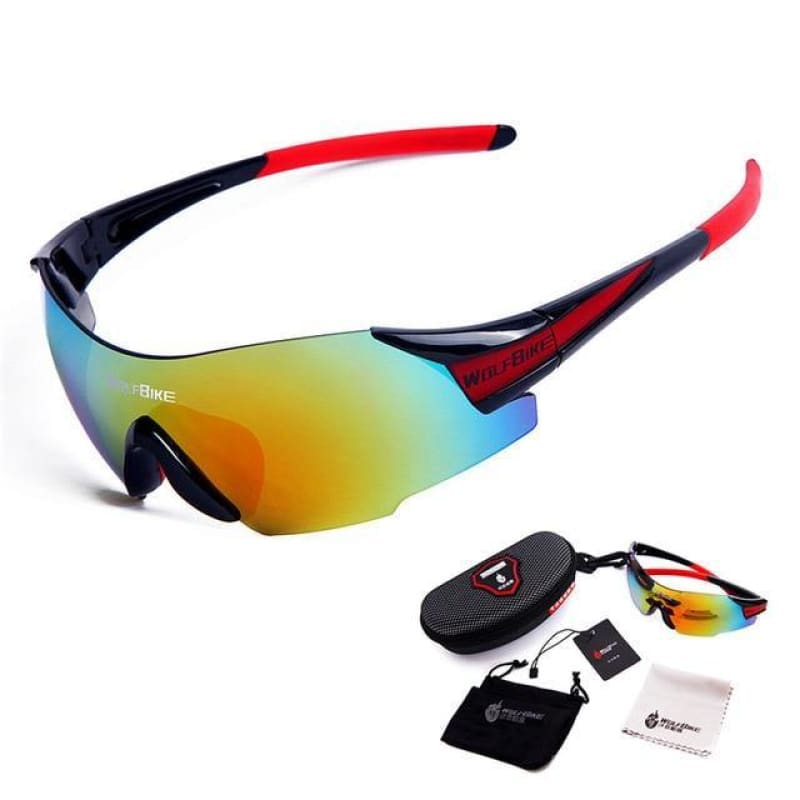 Load image into Gallery viewer, UV400 Cycling Glasses Women's Men's Outdoor Sports Bike Bicycle Windproof Sunglasses 3 Colors 1 Lens with original box - My Web Store Shopping