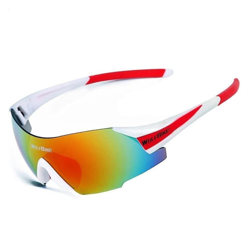 UV400 Cycling Glasses Women's Men's Outdoor Sports Bike Bicycle Windproof Sunglasses 3 Colors 1 Lens with original box - My Web Store Shopping