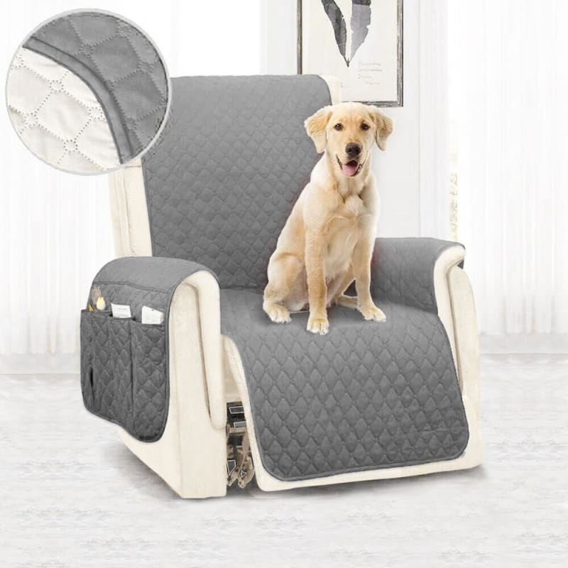 Waterproof Sofa Cover Removable Pet Dog Kid Mat Armchair Washable Armrest Couch Covers Slipcovers - My Web Store Shopping