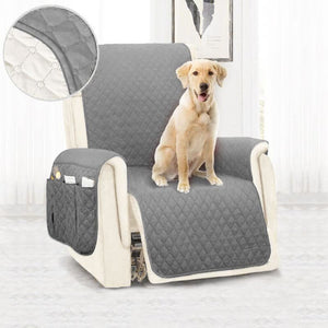 Load image into Gallery viewer, Waterproof Sofa Cover Removable Pet Dog Kid Mat Armchair Washable Armrest Couch Covers Slipcovers - My Web Store Shopping