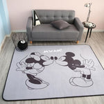 White Black Mickey Rug Children Baby Crawling Game Mat Carpet Indoor Cartoon Soft Four Season - My Web Store Shopping