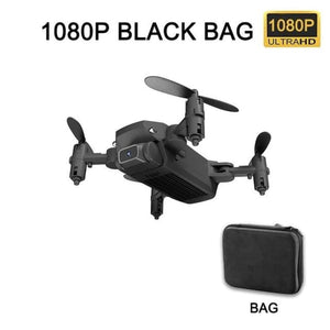 Load image into Gallery viewer, XKJ New Mini Drone 4K 1080P HD Camera WiFi Fpv Air Pressure Altitude Hold Black And Gray Foldable - My Web Store Shopping
