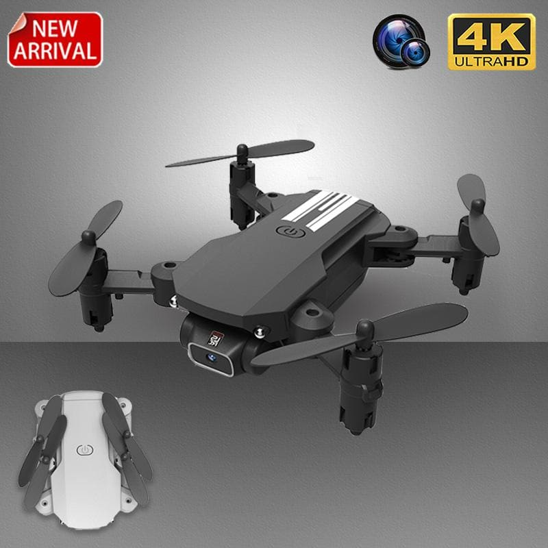 XKJ New Mini Drone 4K 1080P HD Camera WiFi Fpv Air Pressure Altitude Hold Black And Gray Foldable - My Web Store Shopping
