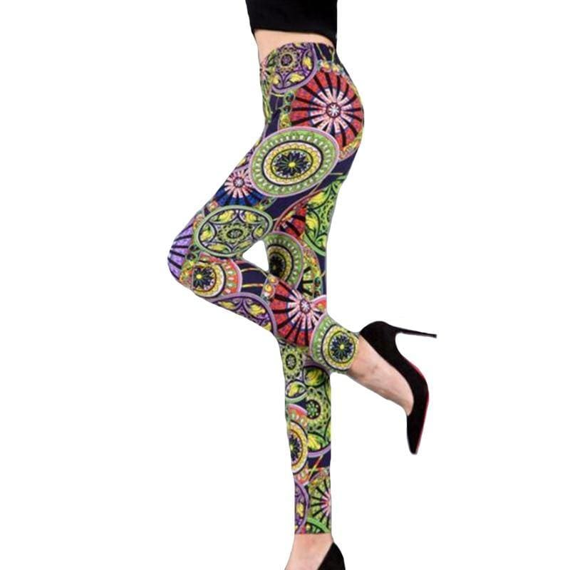 New Women Leggings 3D Print Jeggings Sexy Leggins Fitness Legging - My Web Store Shopping