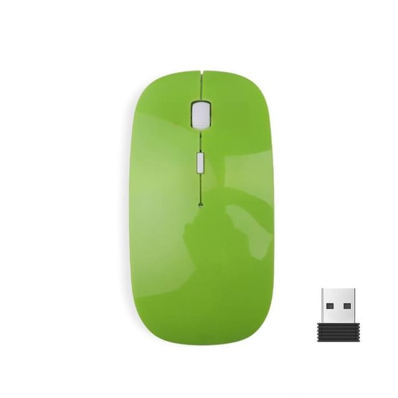 Load image into Gallery viewer, Wireless Mouse 2.4G Ultra Thin USB Optical Receiver Super Slim Mouse Cordless for Computer PC Laptop - My Web Store Shopping