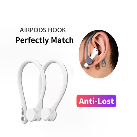 protection airpods earhook silicone bluetooth wireless earphone holder earbuds ear hook - My Web Store Shopping