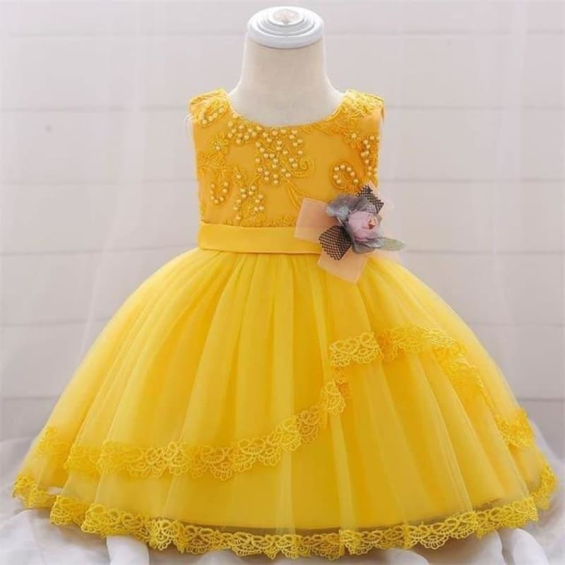 Load image into Gallery viewer, vestido infantil For Baby Girls Christening Princess Dress For Baby Girls Party Dresses 1 Year - My Web Store Shopping