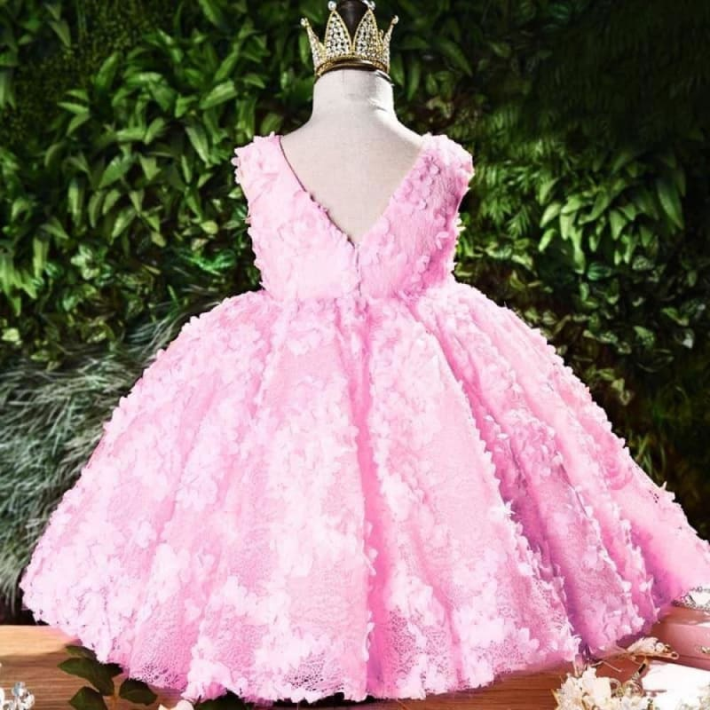 vestido infantil For Baby Girls Christening Princess Dress For Baby Girls Party Dresses 1 Year - My Web Store Shopping