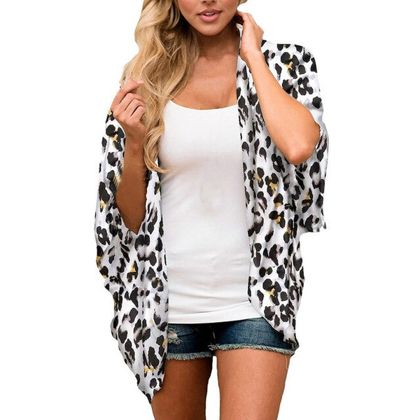 Women's Leopard Shawl