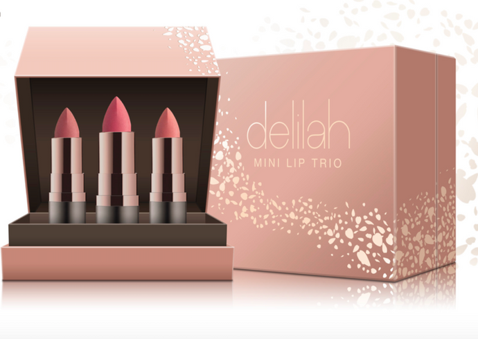DELILAH Mini Lip Trio