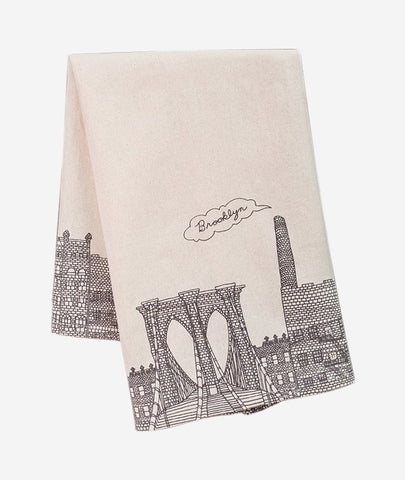 Brooklyn Tea Towel Fishs Eddy - BEAM // Design Store