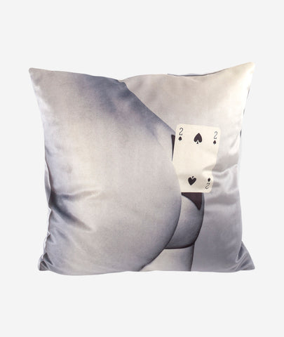 Spades Pillow Seletti x Toiletpaper - BEAM // Design Store