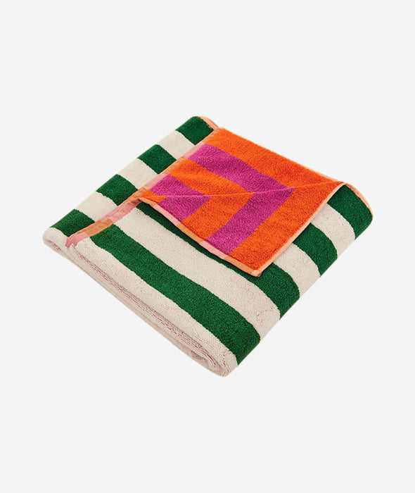 Tulip Stripe Bath Towel