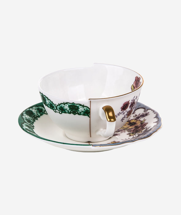 Hybrid Isidora Teacup With Saucer Seletti - BEAM // Design Store