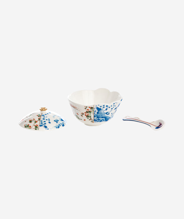 Hybrid Maurilia Sugar Pot and Spoon Seletti - BEAM // Design Store