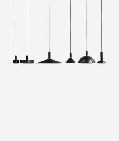 Socket Pendant Lamp Shades - 6 Styles Ferm Living - BEAM // Design Store