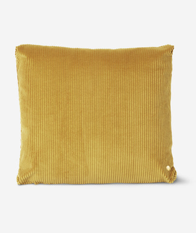 Corduroy Pillow Mustard Ferm Living - BEAM // Design Store
