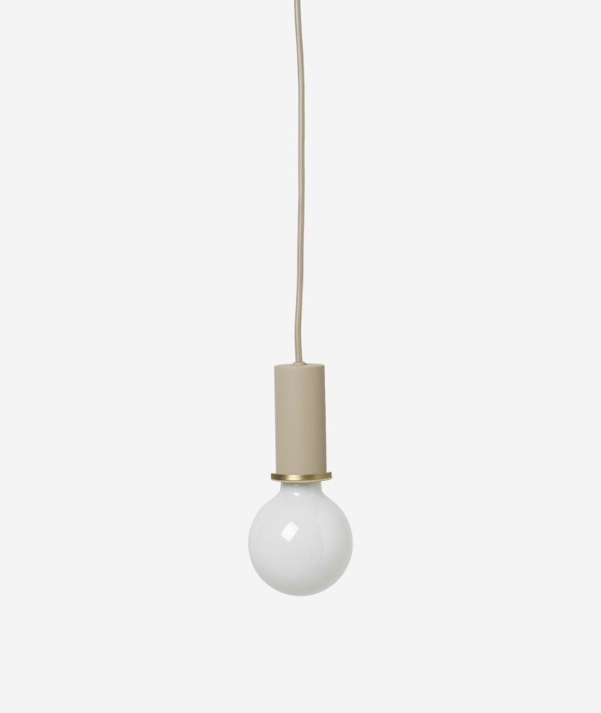 Socket Pendant Lamp - 7 Colors Ferm Living - BEAM // Design Store