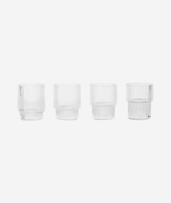 Ripple Small Glasses Set/4 Ferm Living - BEAM // Design Store
