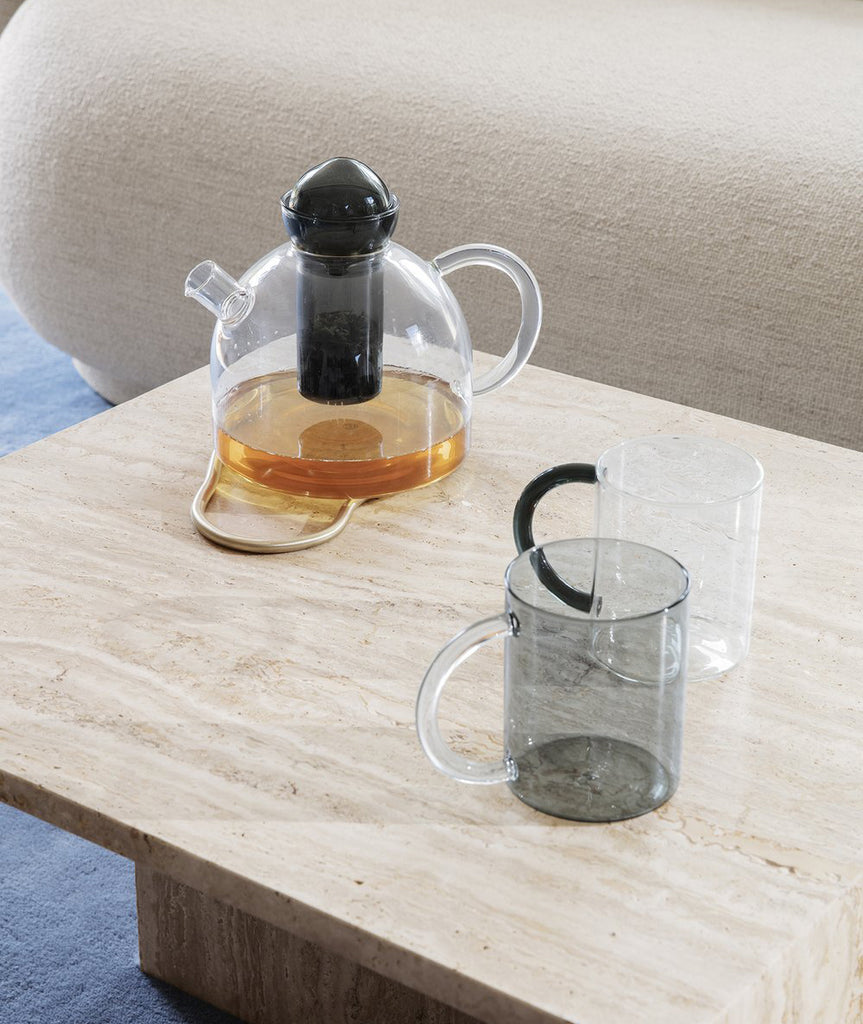 Still Mug Smoked Grey Set/2 Ferm Living - BEAM // Design Store
