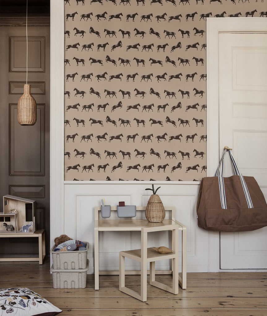 Horse Wallpaper Ferm Living - BEAM // Design Store