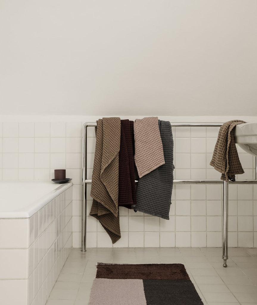 Pile Bathroom Mat - 2 Colors Ferm Living - BEAM // Design Store