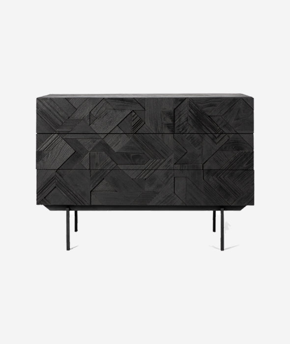 Graphic Chest of Drawers Ethnicraft - BEAM // Design Store