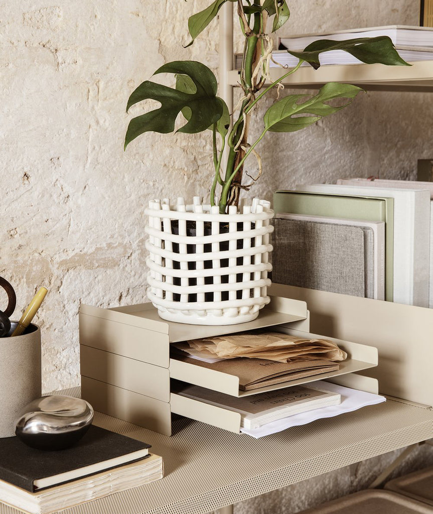 Ceramic Basket - 2 Colors Ferm Living - BEAM // Design Store
