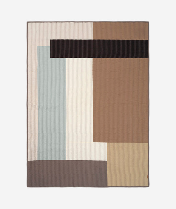 Shay Quilted Blanket - 3 Colors Ferm Living - BEAM // Design Store