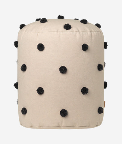 Dot Tufted Pouf - 2 Colors