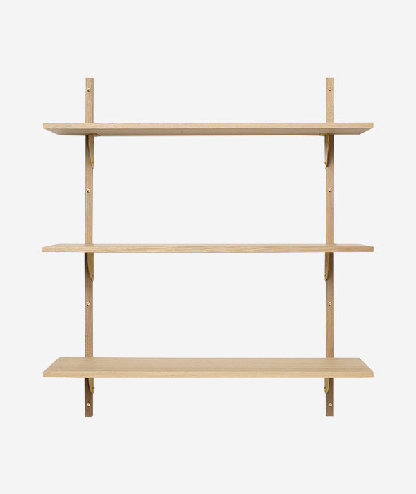 Sector Shelf Triple - 2 Colors Ferm Living - BEAM // Design Store