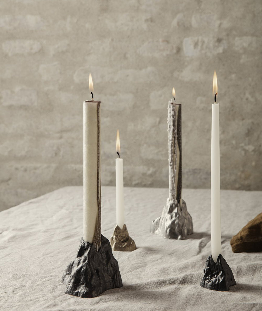 Stone Candle Holder - 3 Colors
