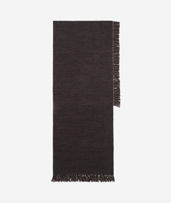 Dark Melange Kelim Rug - 3 Sizes