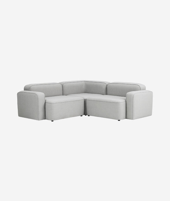Rope Modular 3-PC Corner Sectional Sofa - More Options
