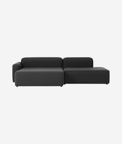 Rope Modular 2-PC Chaise Lounge Sectional Sofa - More Options