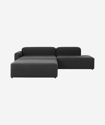 Rope Modular 3-PC Chaise Lounge Sectional Sofa - More Options