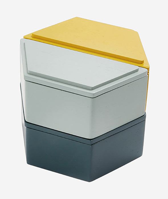 Honeycomb Stacking Boxes - 2 Colors