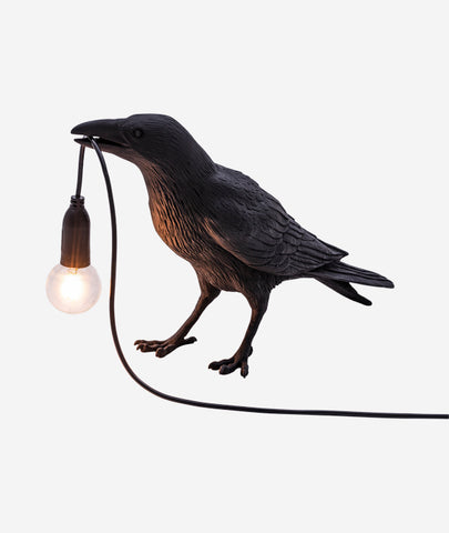 Bird Lamps Black