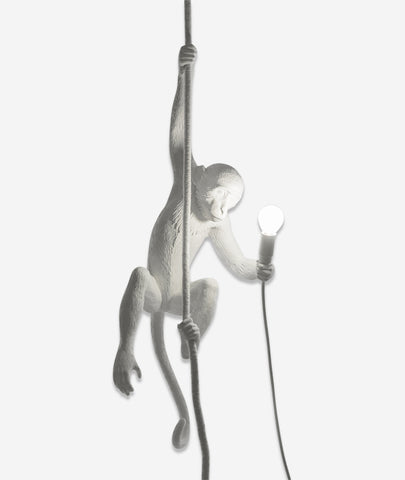 Monkey Lamps White Seletti - BEAM // Design Store