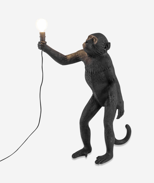 Monkey Lamps Black Seletti - BEAM // Design Store