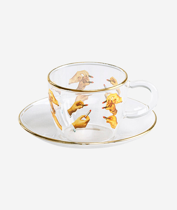 Toiletpaper Coffee Cup + Saucer Set - 6 Styles